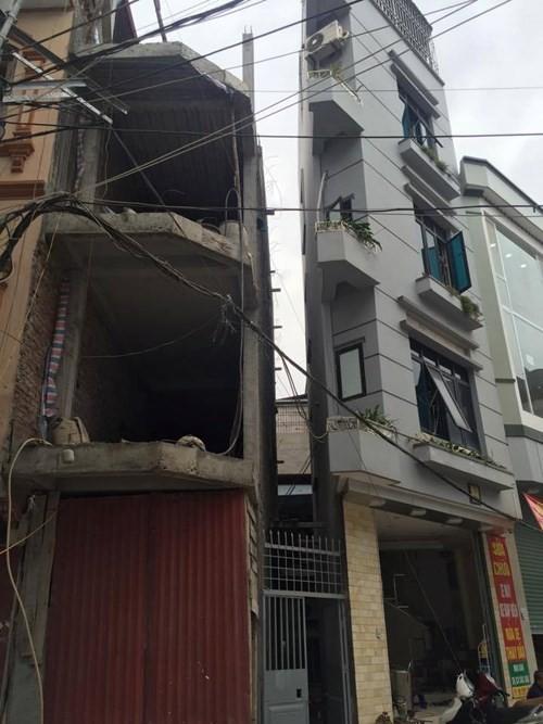 """Hà Nội: Những ngôi nhà """"kỳ dị"""" lại tiếp tục mọc lên - ảnh 2"""