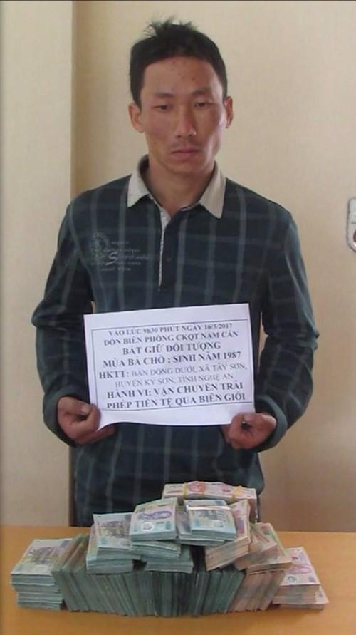 Bị bắt khi mang trong người 2 tỷ đồng qua biên giới Việt - Lào - ảnh 1