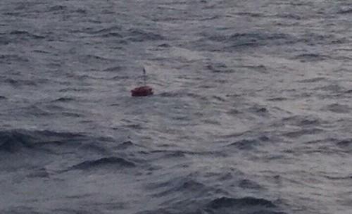 Tàu hải quân đã xác định được vị trí tàu Hải Thành 26 bị chìm - ảnh 1