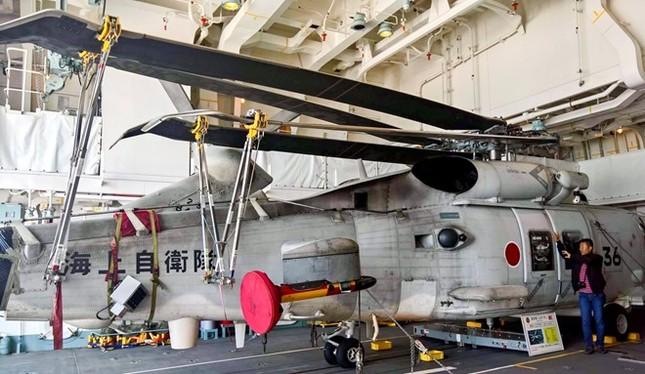 Tàu hộ vệ tên lửa của Nhật Bản cập cảng Cam Ranh - ảnh 1