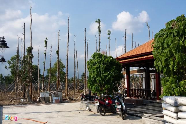 Đình chỉ xây dựng biệt thự của tổng giám đốc ở Sóc Trăng - ảnh 2