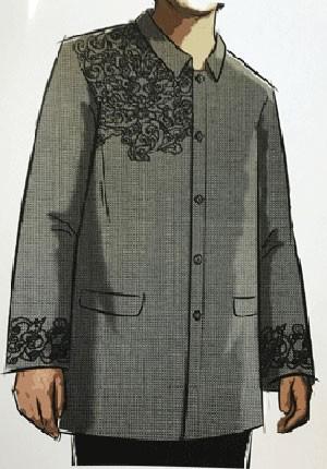 Đề xuất hai mẫu trang phục cho lãnh đạo APEC 2017 - ảnh 1