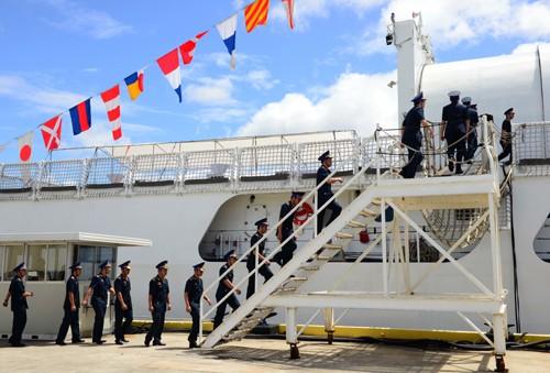 Mỹ bàn giao tàu tuần duyên tải trọng cao cho Việt Nam - ảnh 1
