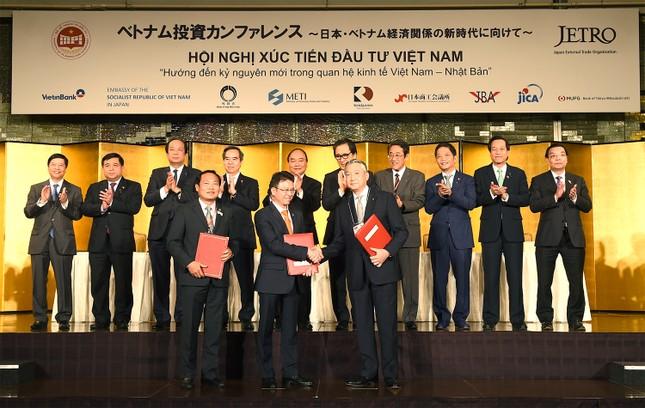 Thủ tướng chứng kiến dòng vốn 22 tỷ USD hợp tác đầu tư Việt - Nhật - ảnh 1