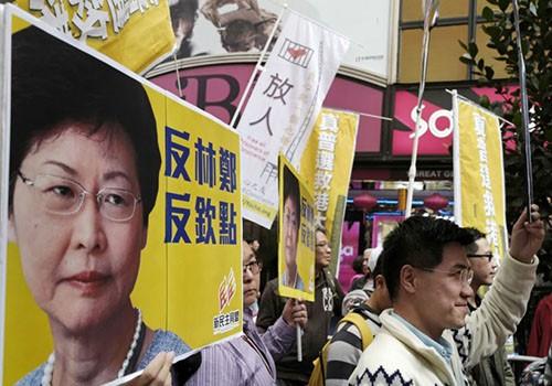 Tân nữ lãnh đạo 59 tuổi của Hong Kong - ảnh 1