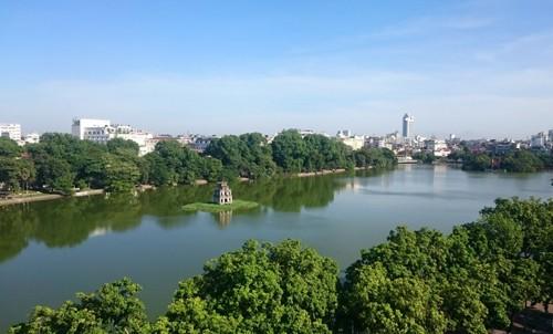Chủ tịch Hà Nội bác bỏ thông tin thay thế cây xanh ở hồ Gươm - ảnh 1