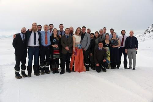 Cặp đôi đầu tiên tổ chức đám cưới ở Nam Cực - ảnh 1