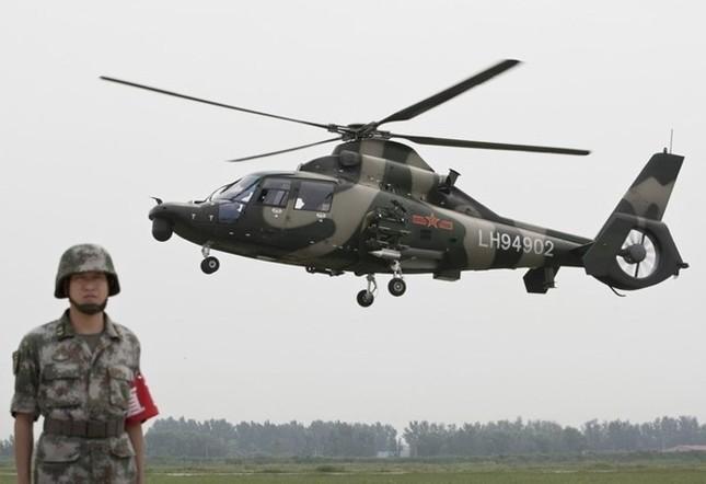 Trung Quốc triển khai trực thăng tham gia gìn giữ hoà bình tại Darfur - ảnh 1
