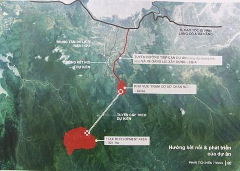 Huế muốn xây cáp treo tại vườn quốc gia Bạch Mã - ảnh 1