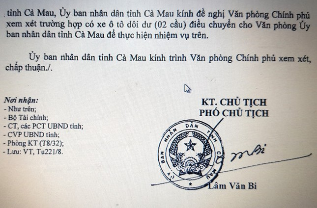 Cà Mau xin Trung ương hỗ trợ ôtô để kiểm tra hạn mặn - ảnh 1