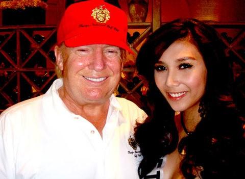 Người đẹp Việt kể chuyện gặp gỡ ông Donald Trump - ảnh 1