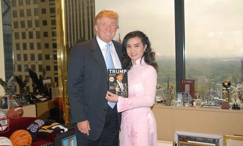 Người đẹp Việt kể chuyện gặp gỡ ông Donald Trump - ảnh 2