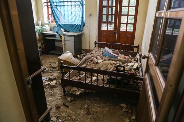 Hiện trường tan hoang sau vụ nổ lò hơi làm 8 người thương vong - ảnh 11