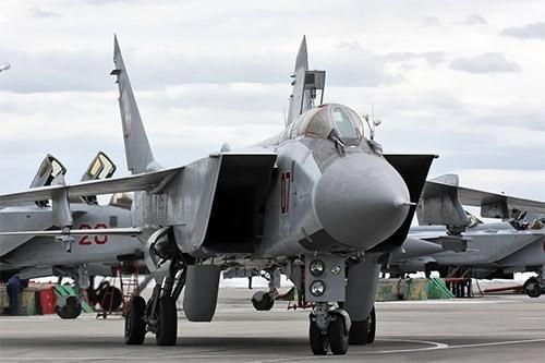 Nga công bố lý do đưa tiêm kích Mig-31 tới Syria - ảnh 1