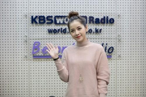 Chi Pu xuất hiện trên đài KBS sau chiến thắng tại Asia Artist Awards 2016 - ảnh 1