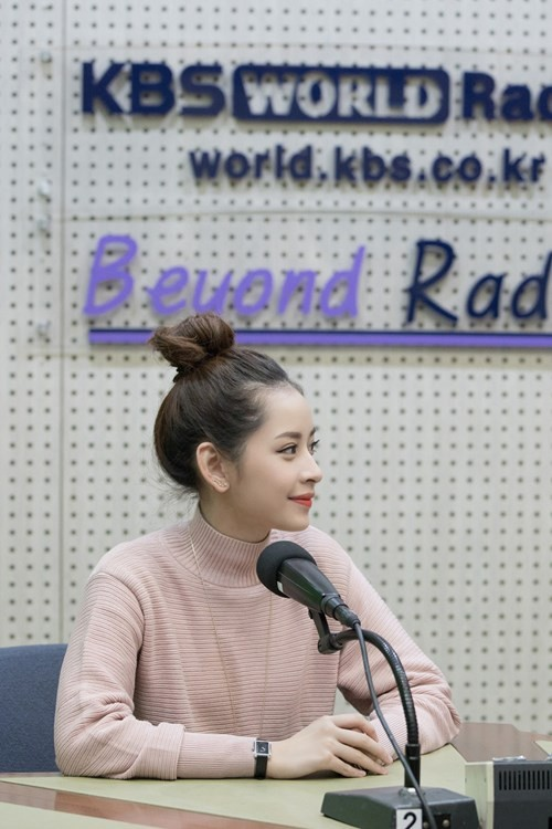 Chi Pu xuất hiện trên đài KBS sau chiến thắng tại Asia Artist Awards 2016 - ảnh 3