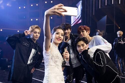 Chi Pu xuất hiện trên đài KBS sau chiến thắng tại Asia Artist Awards 2016 - ảnh 8