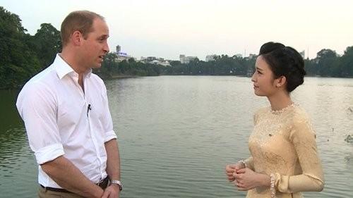 Tiết lộ của MC VTV trò chuyện với hoàng tử William - ảnh 1