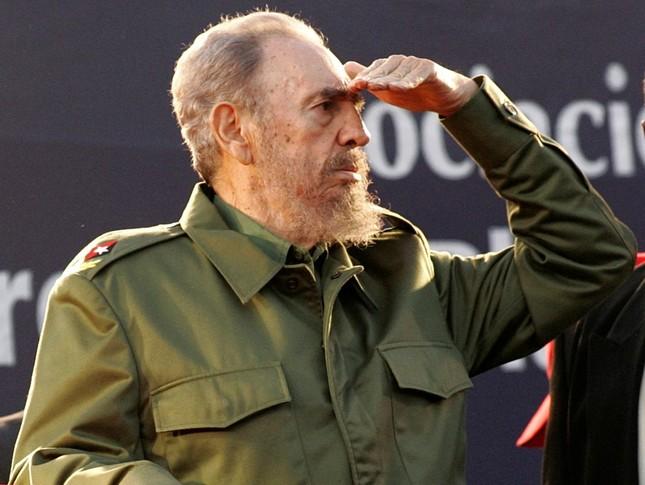 Lãnh tụ Fidel Castro và những khoảnh khắc lịch sử - ảnh 12