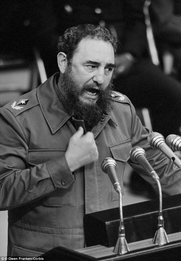 Lãnh tụ Fidel Castro và những khoảnh khắc lịch sử - ảnh 5