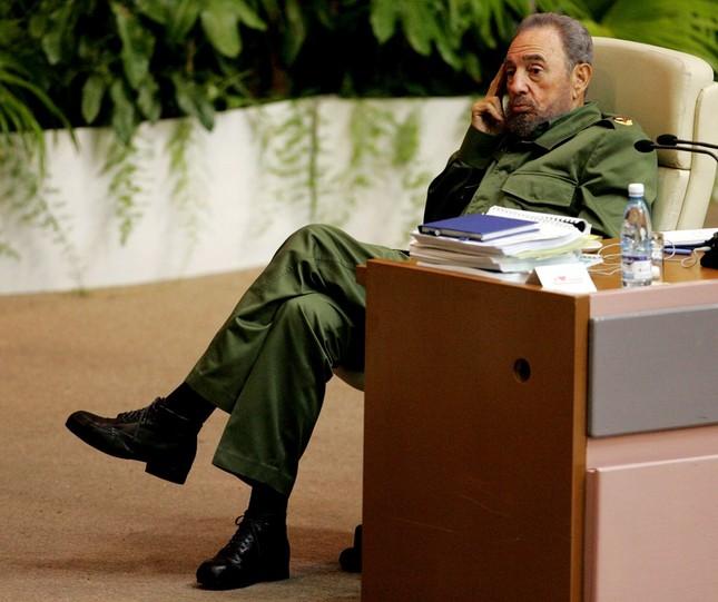 Lãnh tụ Fidel Castro và những khoảnh khắc lịch sử - ảnh 6