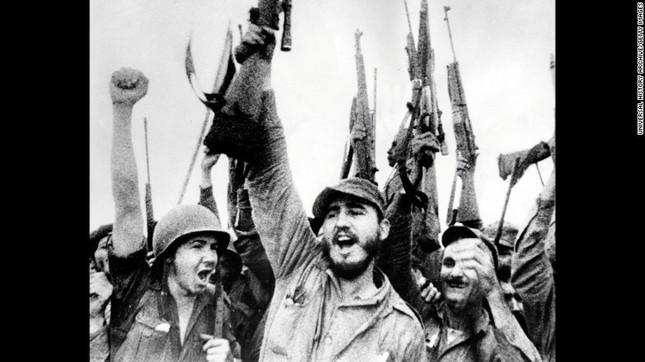 Lãnh tụ Fidel Castro và những khoảnh khắc lịch sử - ảnh 8