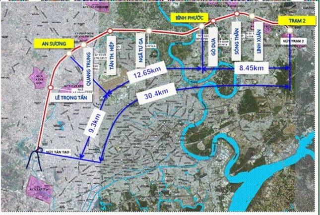 TP.HCM xây dựng đường trên cao số 5 với hơn 17.000 tỷ đồng - ảnh 1