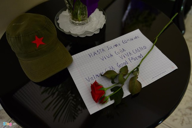 Bí thư Đinh La Thăng viếng lãnh tụ Fidel Castro - ảnh 7