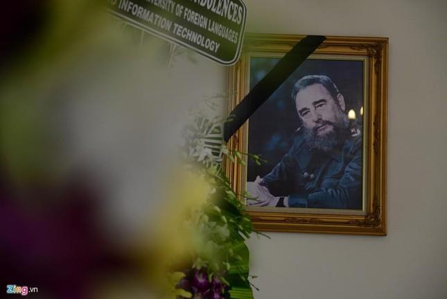 Bí thư Đinh La Thăng viếng lãnh tụ Fidel Castro - ảnh 8
