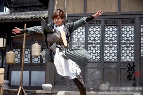 Hậu trường bay nhảy, cưỡi ngựa trong phim cổ trang Hoa ngữ - ảnh 6