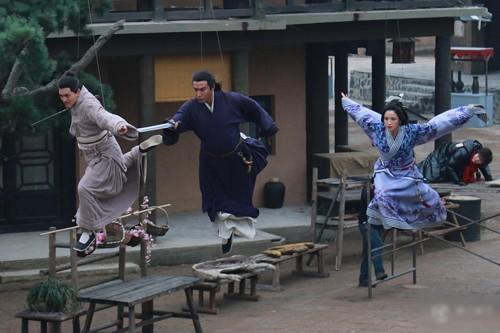 Hậu trường bay nhảy, cưỡi ngựa trong phim cổ trang Hoa ngữ - ảnh 7