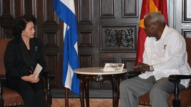 Chủ tịch Quốc hội phát biểu tưởng niệm lãnh tụ Fidel Castro - ảnh 1