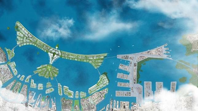 Jakarta xây tường ngăn thành phố chìm xuống biển - ảnh 1