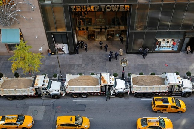 New York đòi 35 triệu USD tiền bảo vệ Trump - ảnh 1
