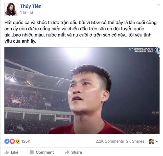 Thủy Tiên sợ người hâm mộ sẽ 'phản bội' Công Vinh - ảnh 1