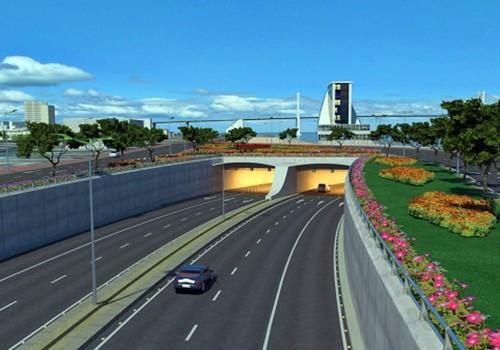 Đà Nẵng sẽ xây hầm vượt sông Hàn - ảnh 1