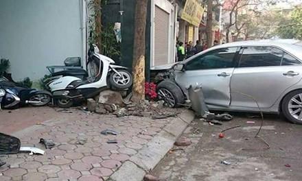 10 năm tù cho tài xế 'xe điên' đâm chết 3 người ở Long Biên - ảnh 1