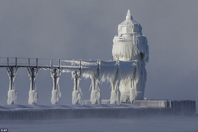 Chicago lạnh hơn cả Sao Hỏa - ảnh 1