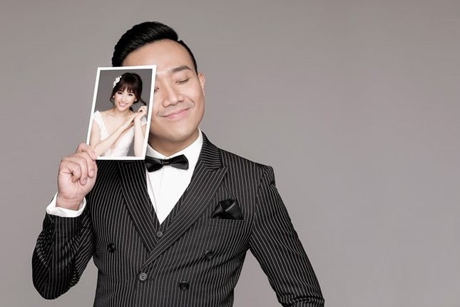 Hari Won - Trấn Thành tinh nghịch trong ảnh cưới - ảnh 5