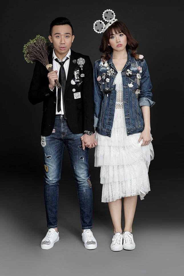 Hari Won - Trấn Thành tinh nghịch trong ảnh cưới - ảnh 7