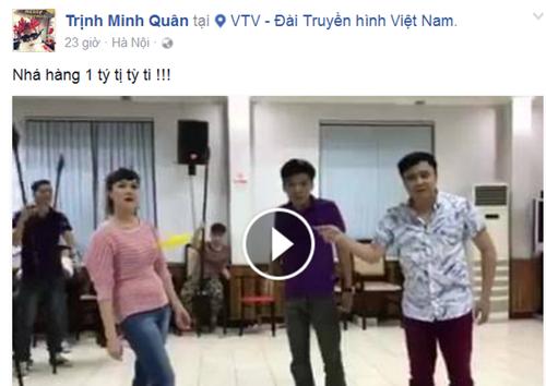 Minh Quân chia sẻ clip hậu trường tập Táo quân 2017? - ảnh 1