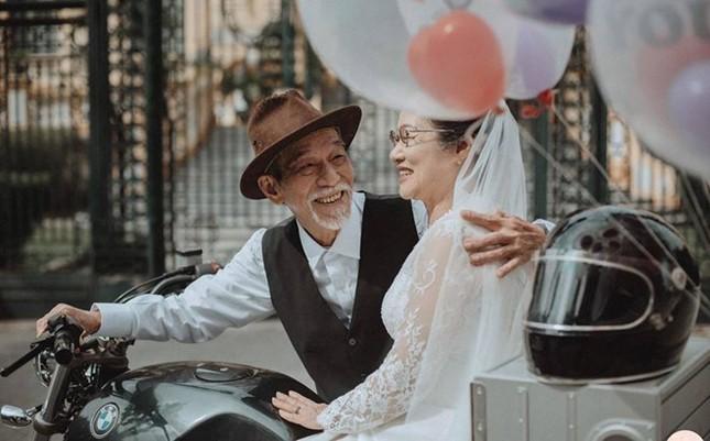 Ảnh cưới 50 năm gây chú ý của nghệ sĩ già Mai Ngọc Căn - ảnh 4
