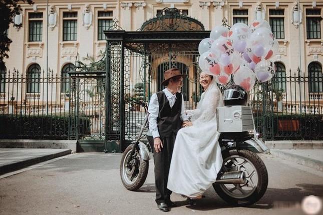 Ảnh cưới 50 năm gây chú ý của nghệ sĩ già Mai Ngọc Căn - ảnh 5