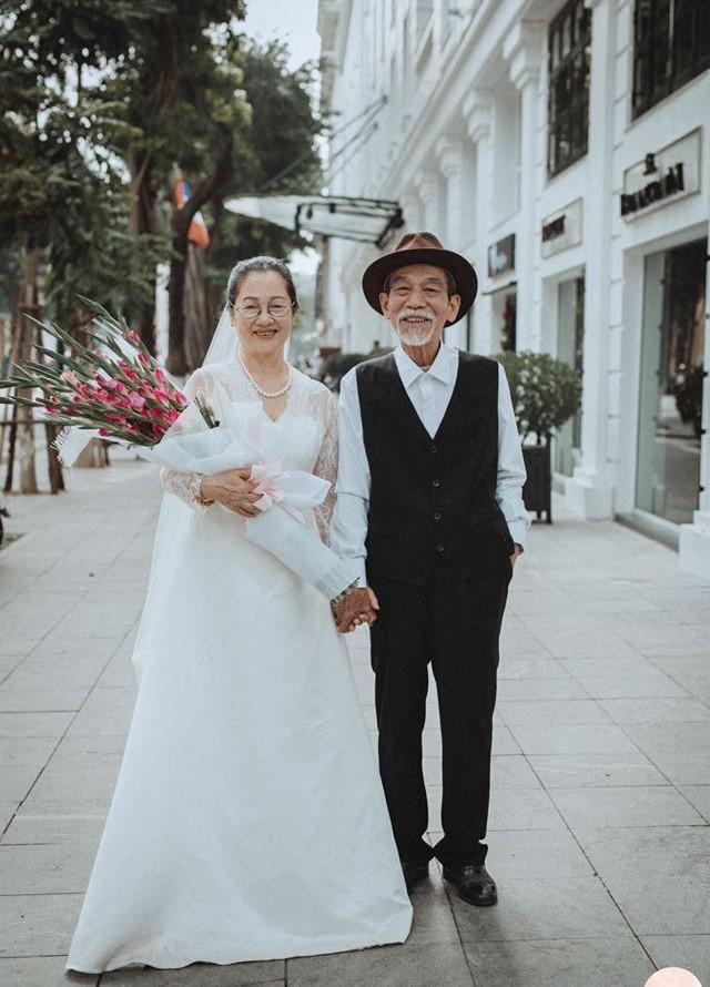 Ảnh cưới 50 năm gây chú ý của nghệ sĩ già Mai Ngọc Căn - ảnh 6