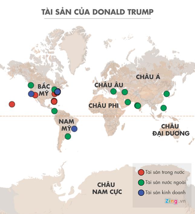 Tài sản của Trump khắp thế giới dễ thành mục tiêu khủng bố - ảnh 1