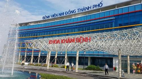 Bệnh viện nhi hiện đại nhất TP HCM bắt đầu hoạt động khám bệnh - ảnh 1