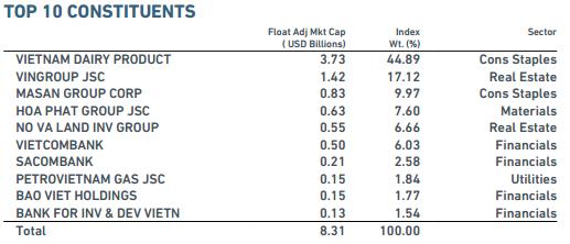 Duy nhất 2 cổ phiếu Việt Nam vào rổ MSCI Frontier Markets Index - ảnh 3