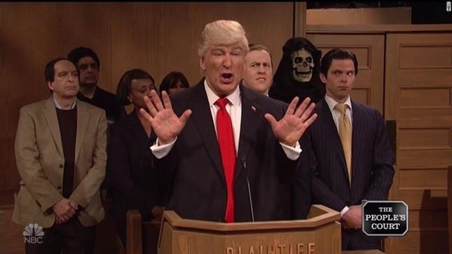 Báo Dominica nhầm hình diễn viên hài với Donald Trump - ảnh 1