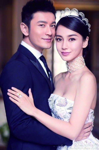 Huỳnh Hiểu Minh dựng tượng hai vợ chồng - ảnh 1