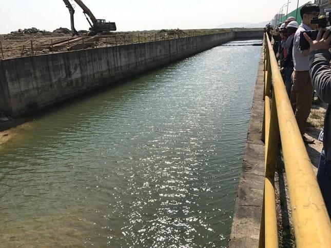 Formosa Hà Tĩnh không có cổng xả thải nước màu đỏ - ảnh 1
